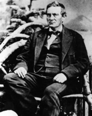 Abraham Curry, pre-1873, founding father Carson City, Nevada.