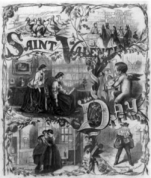 Library of Congress, Saint Valentine's Day, 1861.