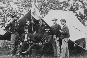 Series: Mathew Brady Photographs of Civil War-Era Personalities and Scenes ca. 1860 - ca. 1865.