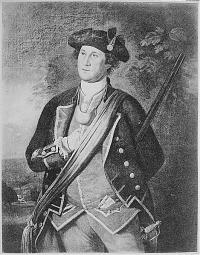 George Washington the Virginia Colonel, 1772.