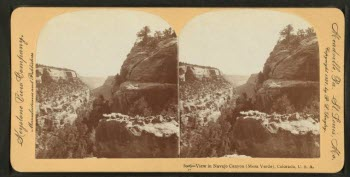 Navajo Canyon, Colorado, c. 1897.