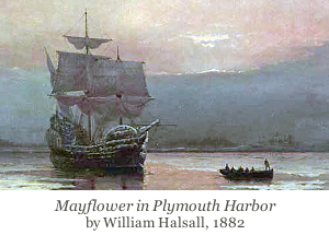 Mayflower Ship Harbor