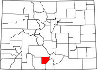 Alamosa County vital records