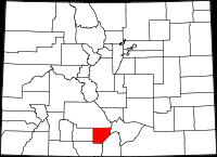 Alamosa County vital records