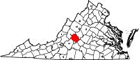 Amherst County vital records