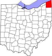 Ashtabula County vital records