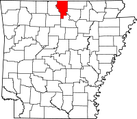 Baxter County vital records