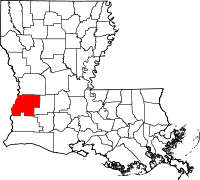 Beauregard Parish vital records