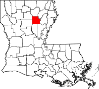 Caldwell Parish vital records