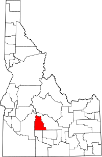 Camas County vital records