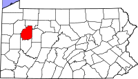 Clarion County vital records