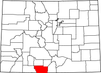 Conejos County vital records