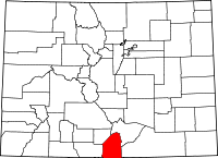 Costilla County vital records