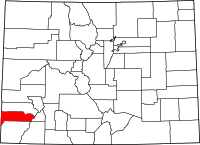Dolores County vital records