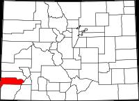 Dolores County vital records