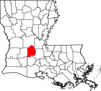 Evangeline Parish vital records