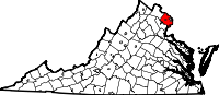 Fairfax County vital records