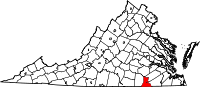 Greensville County vital records