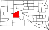 Haakon County vital records