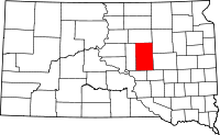 Hand County vital records