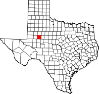 Birth Record Locations in Howard County, TX