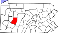 Indiana County vital records