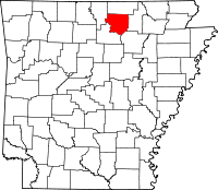 Izard County vital records