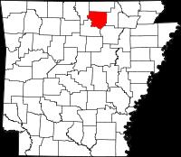 Izard County vital records