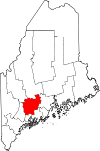 Kennebec County vital records
