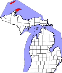 Keweenaw County vital records