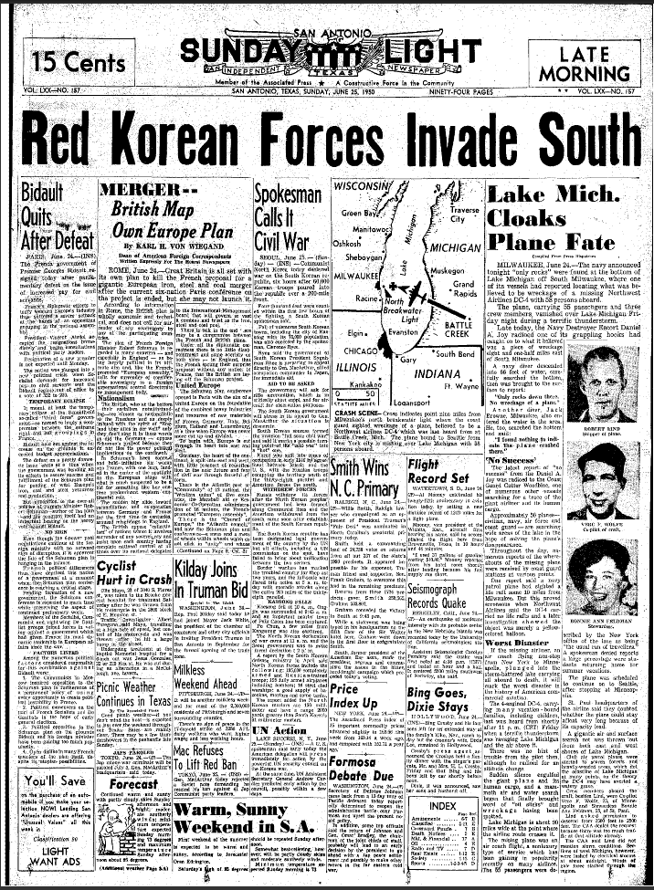 korean war records