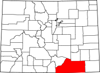 Las Animas County vital records