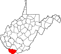 McDowell County vital records