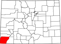 Montezuma County vital records