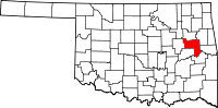 Muskogee County vital records