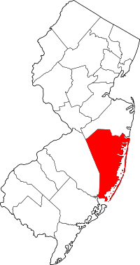 Ocean County vital records