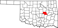 Okfuskee County vital records