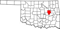 Okmulgee County vital records