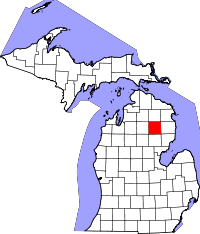 Oscoda County vital records