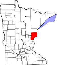 Pine County vital records