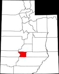Piute County vital records
