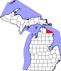 Presque Isle County vital records