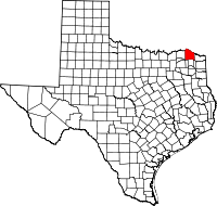 Red River County vital records