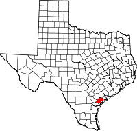 Refugio County vital records