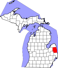 Sanilac County vital records
