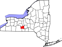 Schuyler County vital records
