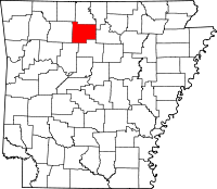 Searcy County vital records