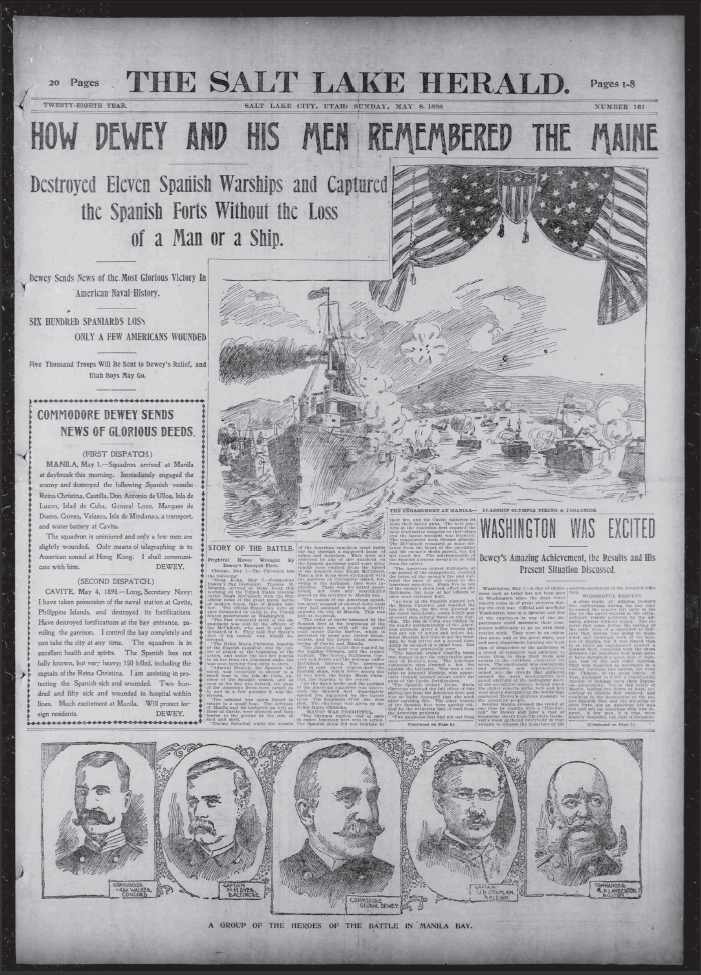 spanish american war articles