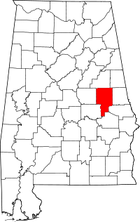 Tallapoosa County vital records