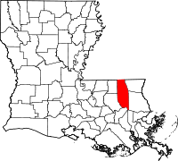 Tangipahoa Parish vital records